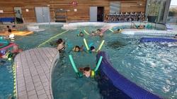 Séance de piscine pour les CE1