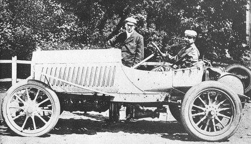 Le premier Grand Prix de l' Automobile Club de France.