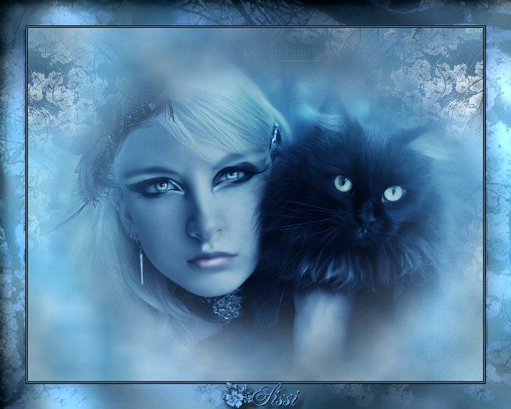 * La Dame au chat *