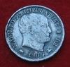 5 soldi 1814 M   avers