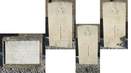 Visite au carré commonwealth du cimetière