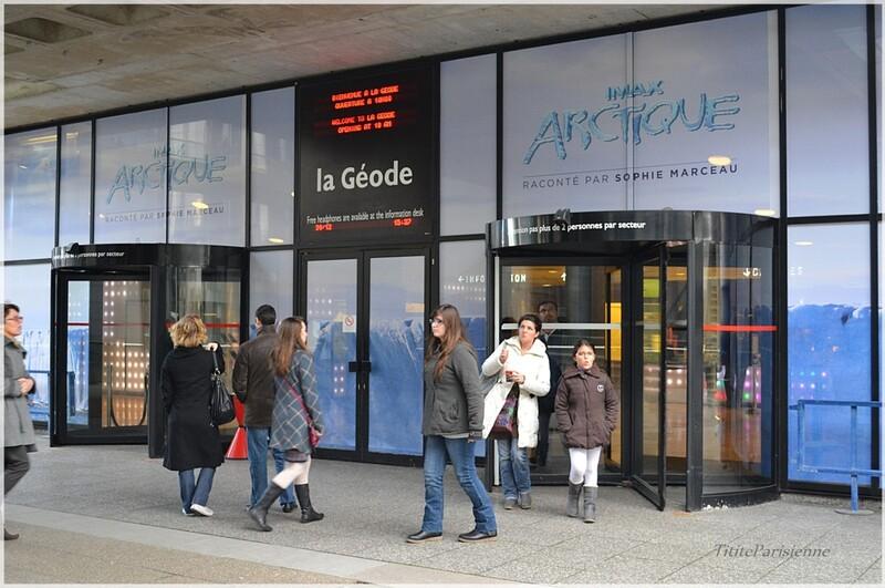 Parc de la Villette : La Géode ... fêtera bientôt ses 30 ans !