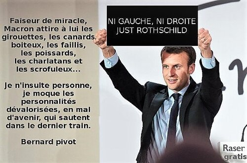 La macronite n'est pas un virus indestructible...