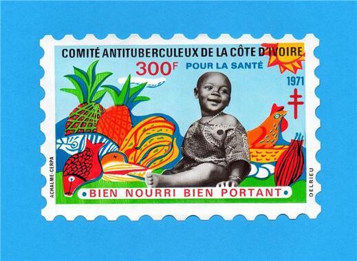 Timbres de Côte d'Ivoire