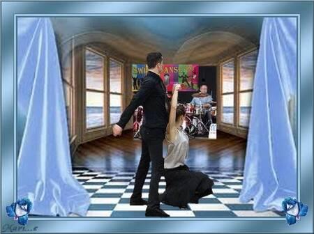 Les prosf de danse (Kevin et Clémentine)