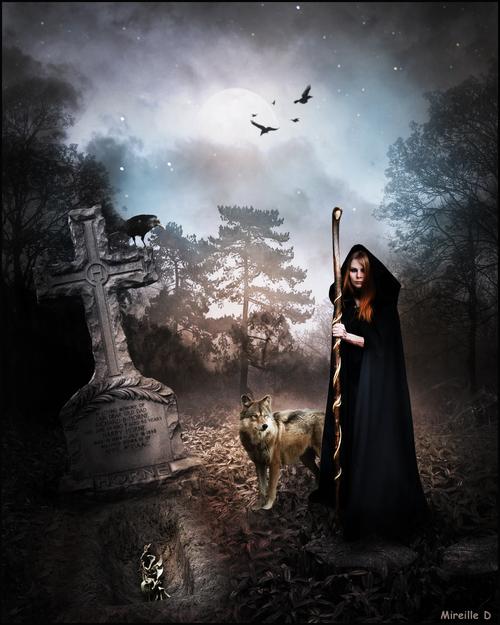 Tombe Halloween (Photomontage)