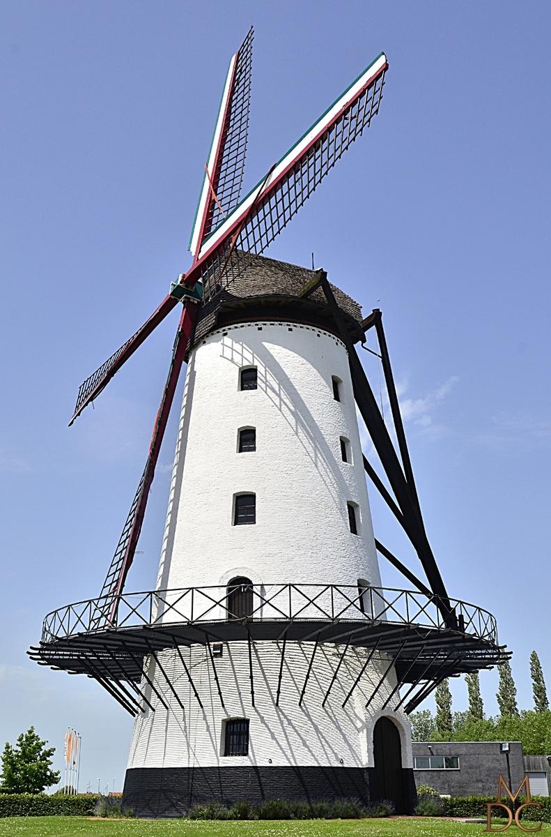 "Moulin de ""Goede Hoop"" (B) Menin (Menen)"