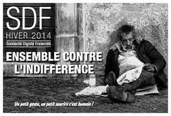 Wolu1200 : Beau geste de Noël de notre bourgmestre pour 110 sans-abri