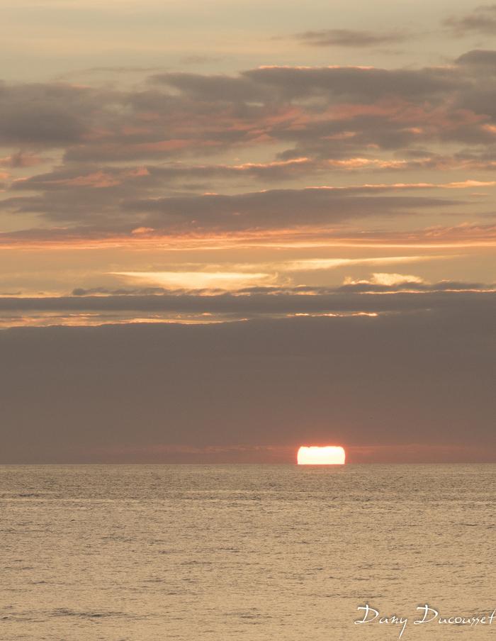 Coucher de soleil un soir de septembre