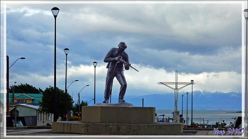 Puerto Natales et les mines de charbon - Patagonie - Chili