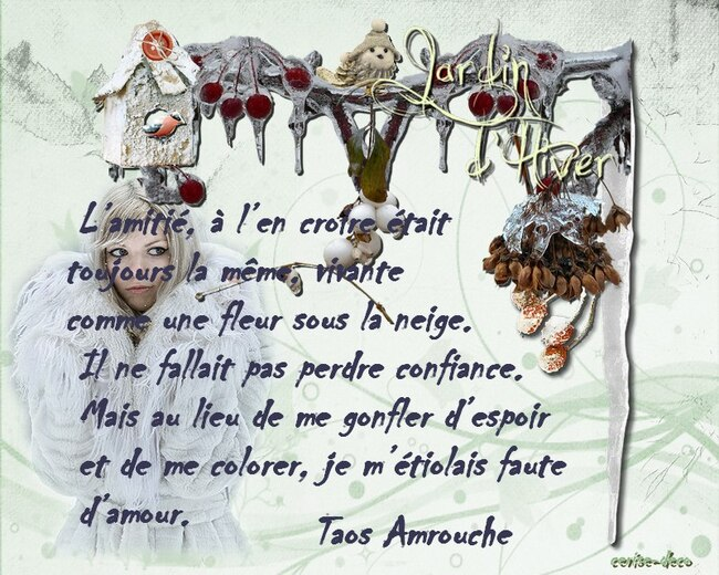 citation neige