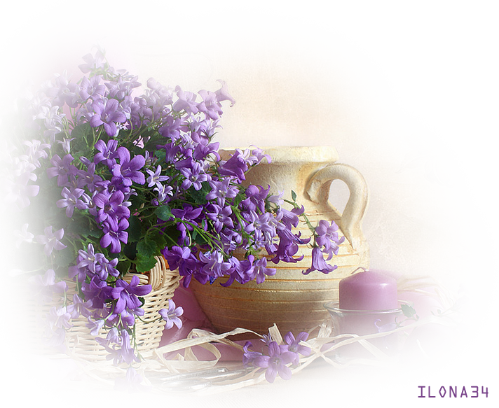 Tube Bouquet de fleurs
