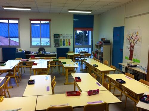 Ma nouvelle classe !!