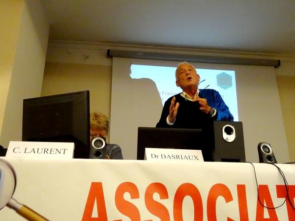 Un exposé sur la maladie d'Alzeimer par  Christiane Laurent , infirmière  et le Docteur Michel Dasriaux