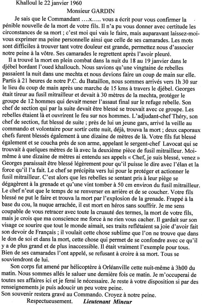 Saint-Rustice (Haute-Garonne) : 19 mars 1962 : Alain Bertrand raconte