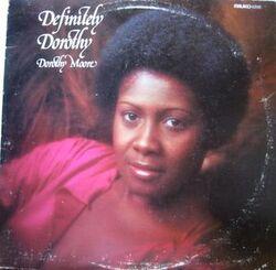 Dorothy Moore - Definitely Dorothy - Complete LP
