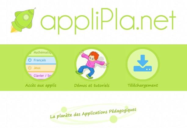 AppliPla.net : des applis pour VPI - TBI - Ordinateurs - Tablettes à télécharger ou en ligne