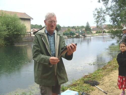 Le concours de Pêche de Sainte Colombe s/Seine
