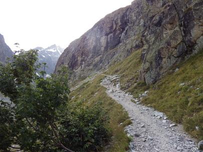 Topo Refuge du Glacier Blanc