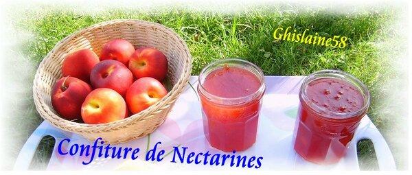 Confiture de Nectarines