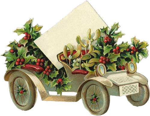 Noël accessoires vintage 2017