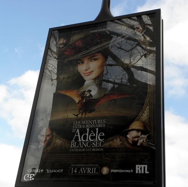 Adele Blanc-Sec affiche