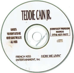 TEDDY CAIN JR - DEMO (2000)