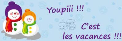 Bonnes vacances!!!!