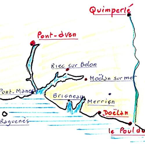Le Pouldu-Quimperlé