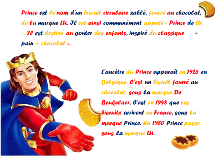 La petite histoire du Prince LU®