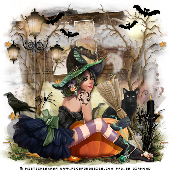 "Tutoriel ""Witch Craft"" de Zisca Design"