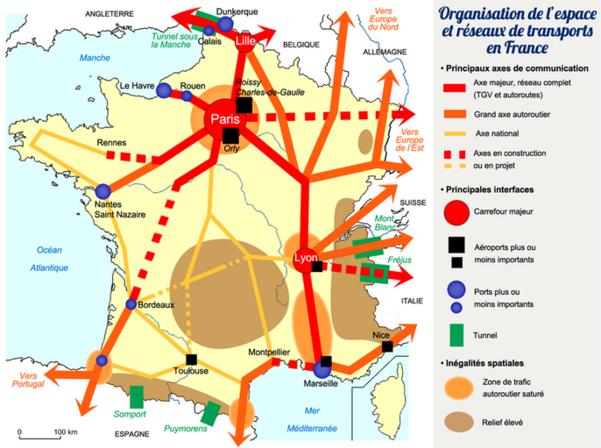 Populations, flux et mobilités en France