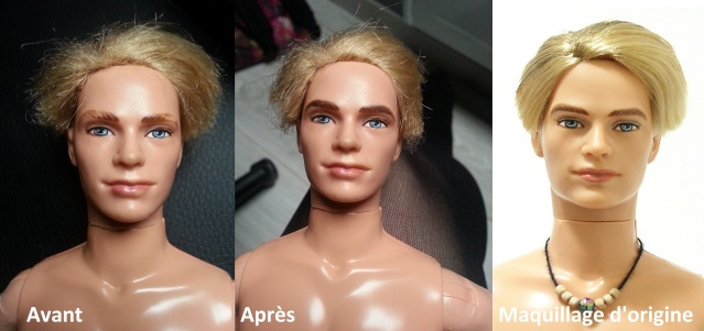 Mes restaurations maquillages !