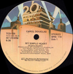 Carol Douglas - My Simple Heart