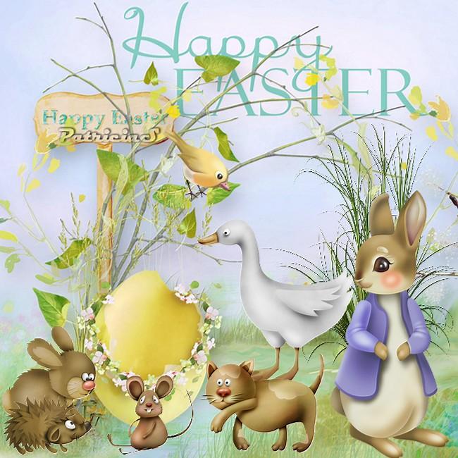 Bonnes Pâques tout le monde