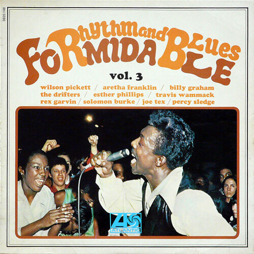 "Série "" Formidable Rhythm & Blues Vol 3 "" Atlantic Records 0820148 [ FR ] en 1967"