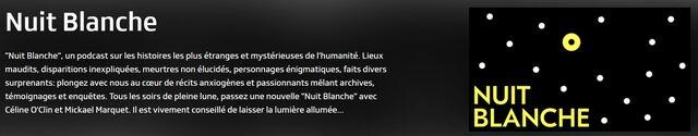 """""""Nuit Blanche"""" sur RTS- épisode 3"""