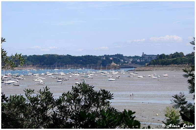 Dinard - Bretagne - Les grandes marées (1/3)