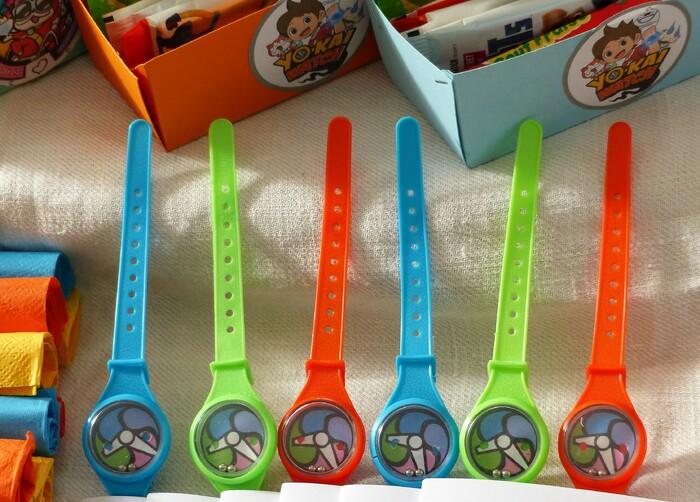 Anniversaire Yokai Watch petits cadeaux