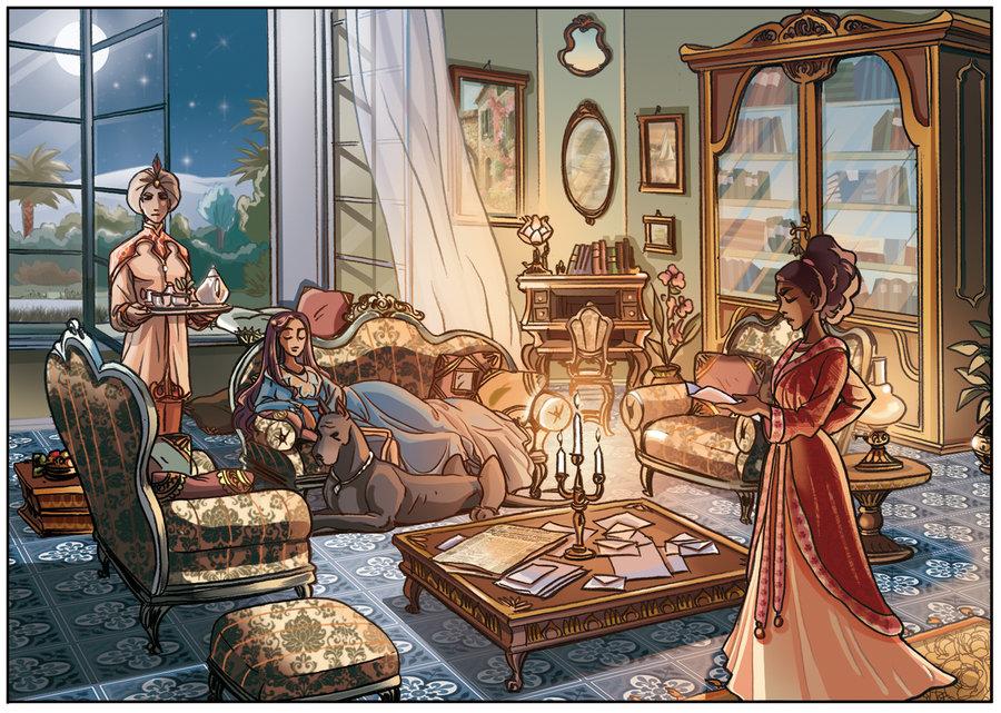 Princesse sarah oui mais en bande d ssin e au gr - Voir princesse sarah ...