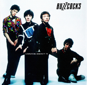 Chez un autre blogueur : The Buzzcoks - Complete BBC sessions 77-79