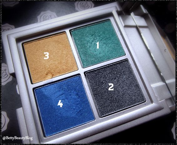 Une palette un MU défi perso posh steel blue kiko