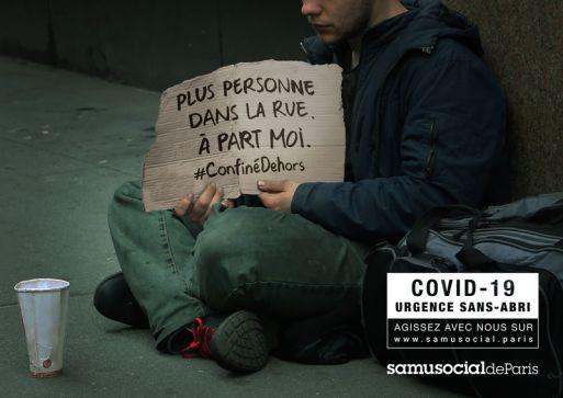 """Josiane pour le Samusocial de Paris - """"Le confinement des sans-abri"""" - Avril 2020 - Stratégies"""
