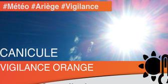 Alerte Orange canicule en Ariège