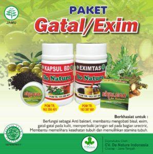 Obat Gatal Kapsul BD Eximtas De Nature Indonesia