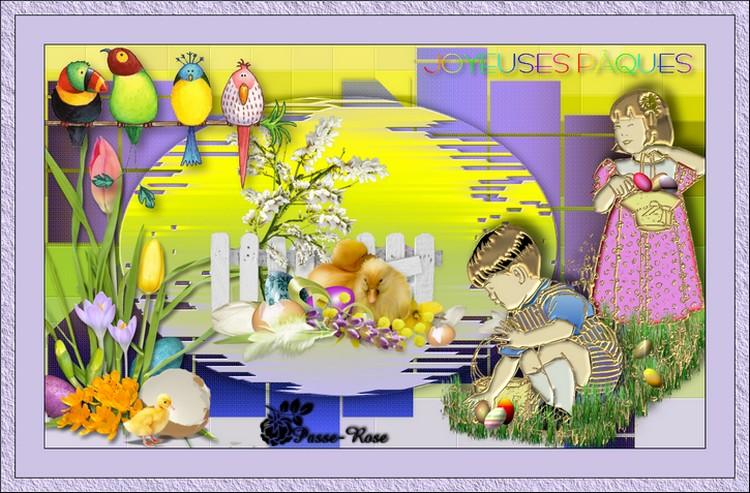 Joyeuses Pâques mes ami(e)s !
