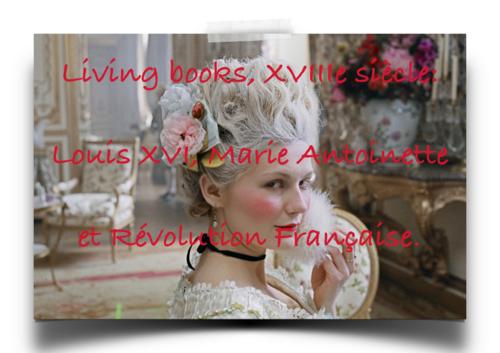 [Living books] Règne de Louis XVI et Révolution Française
