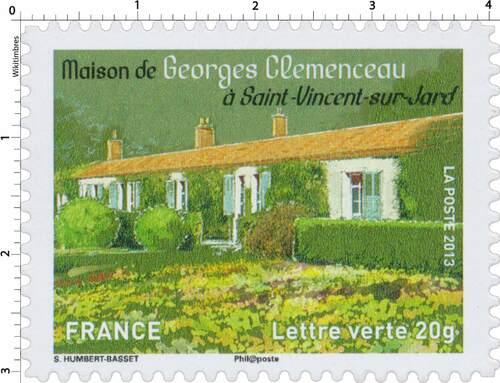 Maison de Clemenceau à St Vincent sur Jard