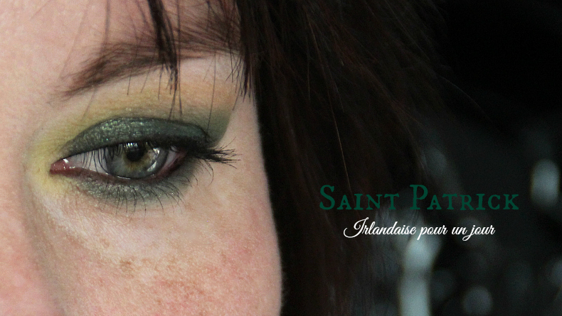 saint patrick - make up - maquillage