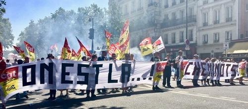 Grève SNCF-Mobilisation élevée jusqu'à 36% des TGV qui ne roulent pas ! (IC.fr-6/07/2018)